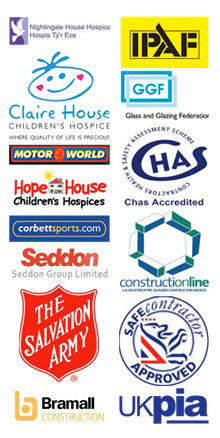 JF Glazing Accreditations