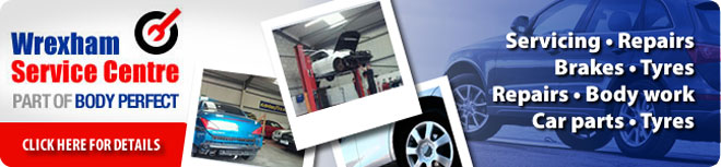 Car Parts, Accessories and Garages Wrexham