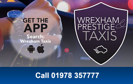 Wrexham & Prestige Taxis - Get the App. Search: Wrexham Taxis on Android & iOS. Call 01978 357777