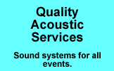 Quality Acoustic Sound Systems