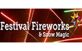 Festival Fireworks and Snow Magic
