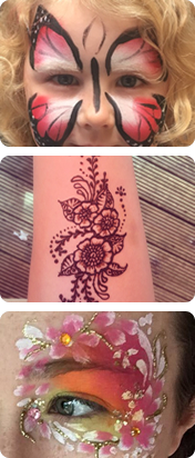 Photos of Divine Designs - Face Painting, Body Art, Henna Wrexham