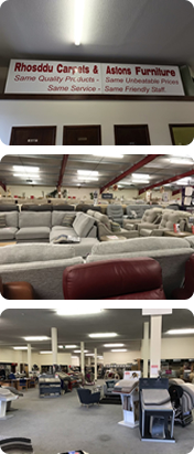 Photos of Rhosddu Carpets and Astons Furniture Wrexham