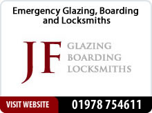 JF Glazing advert