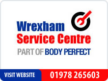 Wrexham Service Centre - part of Body Perfect advert