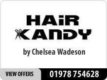 Hair Kandy by Chelsea Wadeson advert