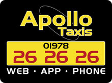 Apollo Taxis advert