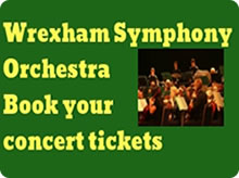 Wrexham Symphony Orchestra advert
