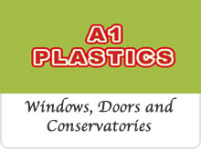 A1 Plastics Windows and Doors Ltd advert