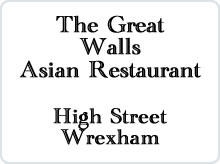 The Great Walls - Asian Restaurant advert