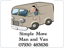 Simple Move - Man and Van advert
