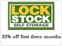 Lock Stock Self Storage advert