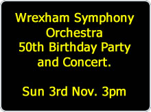WSO 50th Concert advert