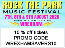 Rock the park  advert