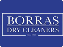 Borras Dry Cleaners advert