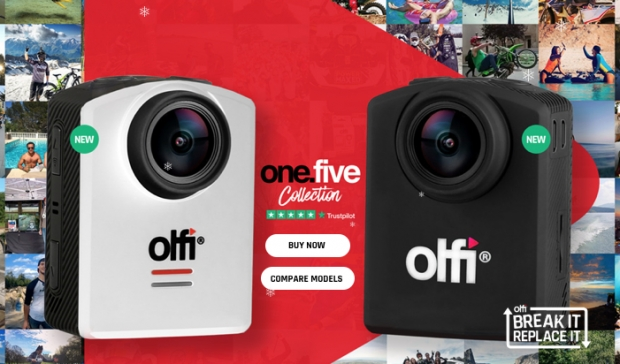 10% off Olfi Action Cameras and Accessories with Wrexham Savers
