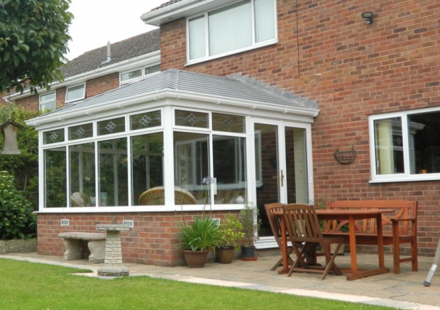 Convert your plastic conservatory roof to an insulated tiles roof. Genuine 10% off with Wrexham Savers Card
