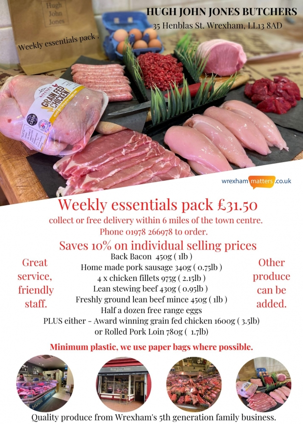 The weekly essentials pack - save 10% on individual selling prices, on this pack of quality produce.